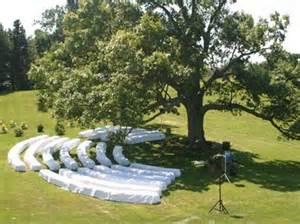 hay wedding big tree wedding with hay bales rustic boho