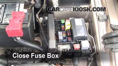 Blown Fuse Check Mitsubishi Galant
