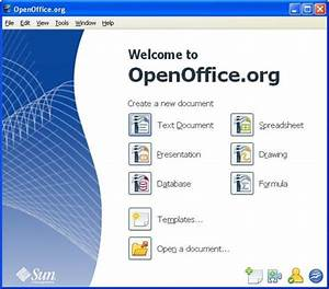 open office database templates - portable download