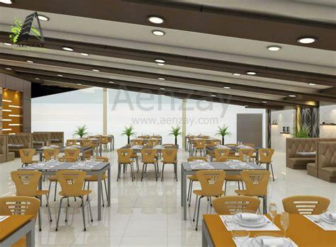 interior design  cafeteria aenzay interiors