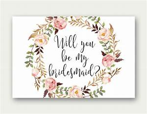 bridesmaid printable will you be my bridesmaid bridesmaid With will you be my bridesmaid letter template