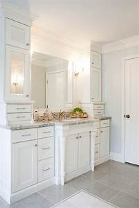 mirrored cabinet doors transitional bathroom harman With best brand of paint for kitchen cabinets with framed wall art for bathrooms