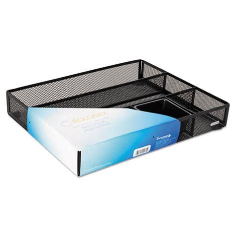 wire mesh desk drawer organizer rolodex 22131 metal mesh deep desk drawer organizer