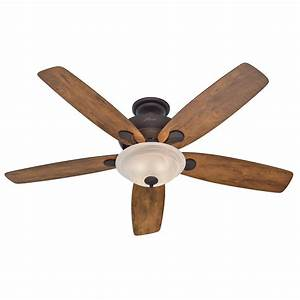 Hunter 60 U201d Bronze Great Room Ceiling Fan With Light