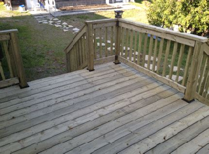 pressure treated decking choices different treatments