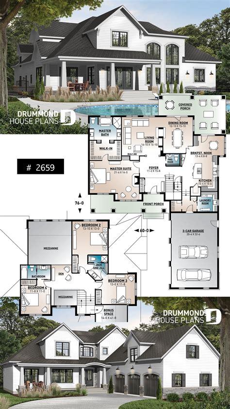 bedrooms  bathroom house plan  car garage master suite  fireplace large bonus room
