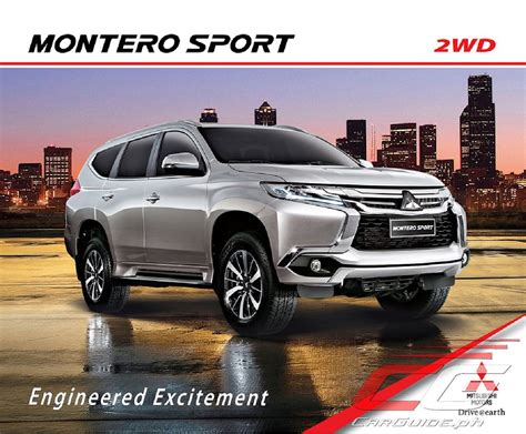 mitsubishi montero sport mitsubishi motors philippines adds more features to