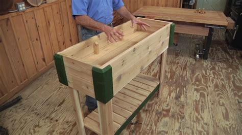 build  standing planter box  cutlist wwgoa