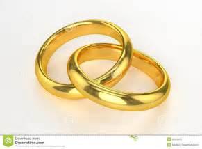 anneaux de mariage anneaux de mariage d 39 or photo libre de droits image 32638605