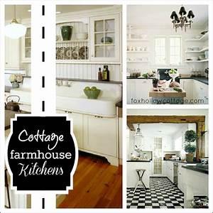 Cottage, Farmhouse, Kitchens, Inspiring, In, White