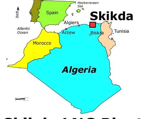 Carte Sat Algerie by Skikda Carte Et Image Satellite