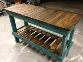 Narrow Sofa Table Plans reclaimed wood rustic sofa table for the home