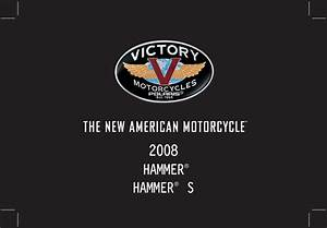 Victory Hammer S 2008 Owner U0026 39 S Manual