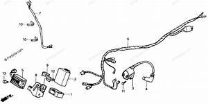 Honda Atv 1991 Oem Parts Diagram For Wire Harness