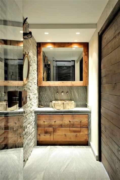 tablier cuisine blanc chalet fantaisie montagne salle de bain lyon par