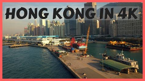 day  hong kong   dji mavic pro drone footage youtube