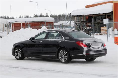2018 Mercedesbenz Sclass Facelift Gets A New Detailed