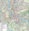 Map of Salzburg. City maps of Austria — Planetolog.com