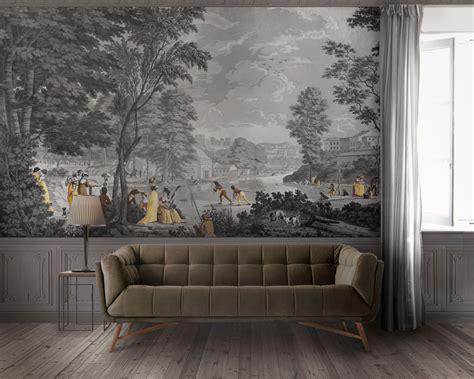 papier peint panoramique paysages romains manufacture dufour 19eme si 232 cle