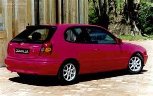 toyota corolla 3 doors specs 1997 1998 1999 2000