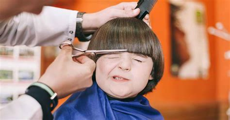 parents complain hairdresser charges kids cry