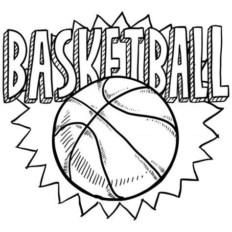 coloring sheet  basketball  kindergarten