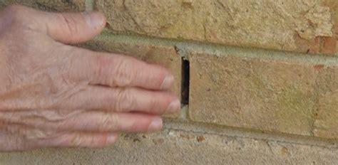 Sealing Weep Holes in Brick Walls   Today's Homeowner