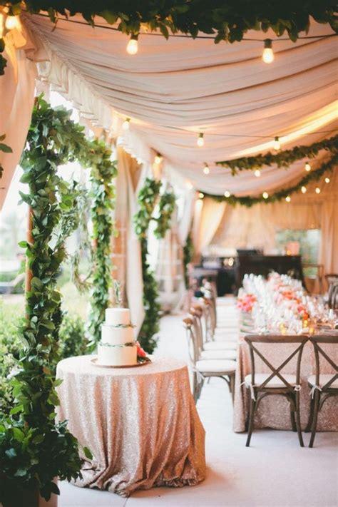gorgeous ways  decorate  wedding tent wedding
