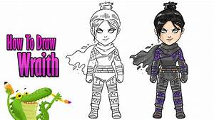 How To Draw And Coloring Wraith