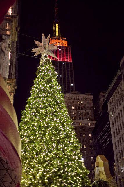 christmas christmas tree lights tree christmas lights nyc