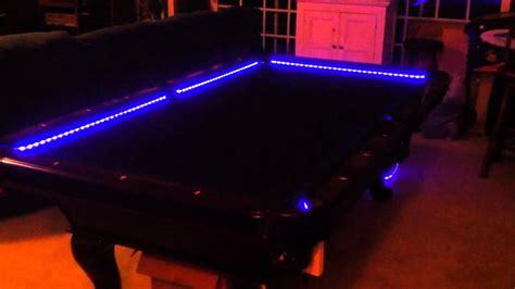 buy pool table light rgb led bar pool table lights color changing and beats