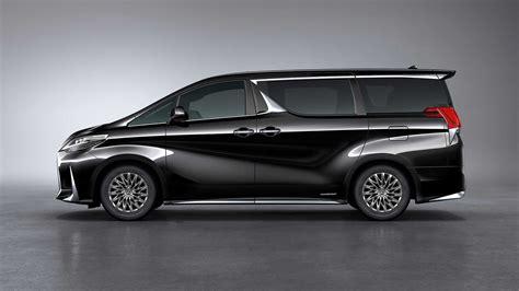lexus lm minivan revealed   shanghai auto show