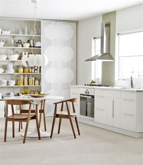 cuisine ikea applad applåd kitchen cabinets complement the hip hanging