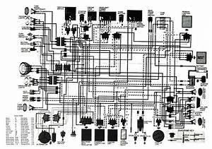Xs650   Xs 650  Xs Wiring Diagrams  Schematics