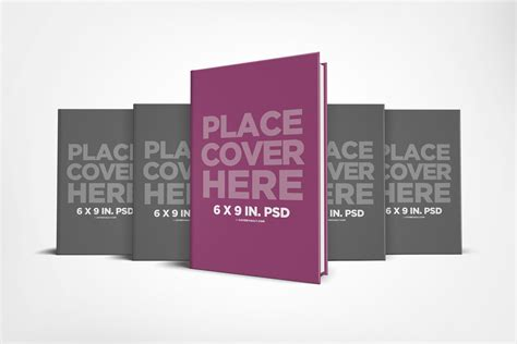 Free Psd Mockups For Books And More