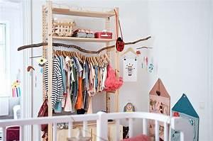 Kleiderschrank Kinder Ikea : imprivisierter kleiderschrank mit ivar g nstig und schnell gemacht ~ Markanthonyermac.com Haus und Dekorationen