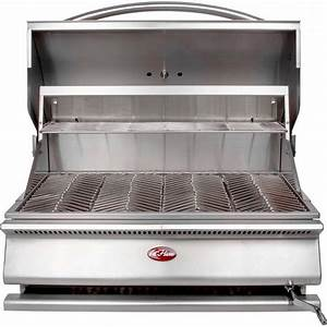 Cal Flame G-Charcoal 31-Inch Built-In Charcoal BBQ Grill ...