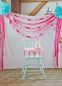 1st birthdays, Backdrops and Ombre on Pinterest