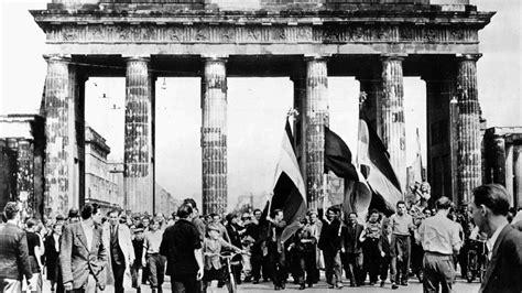 Mauerfall Deutschland Datum by Mauerfall Berlin Datum Am Juni Berlin Gedenken An Die