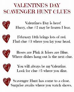 Best 25 Romantic Scavenger Hunt Ideas On Pinterest Diy