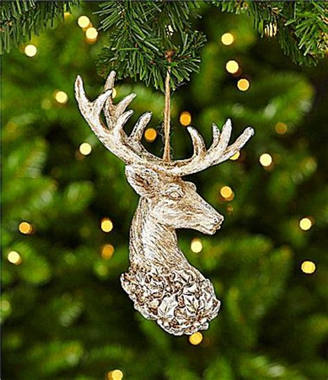 southern living stag head ornament dillards the style