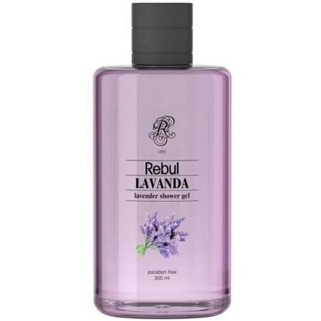 Rebul Lavanda Shower Gel Lavanta Dus Jeli Turkish