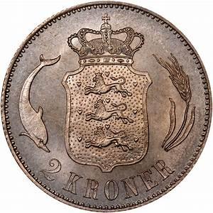 Denmark 2 Kroner KM 798.1 Prices & Values | NGC