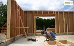 Ossature Bois Maison : osez l 39 ossature bois la maison cologique ~ Melissatoandfro.com Idées de Décoration