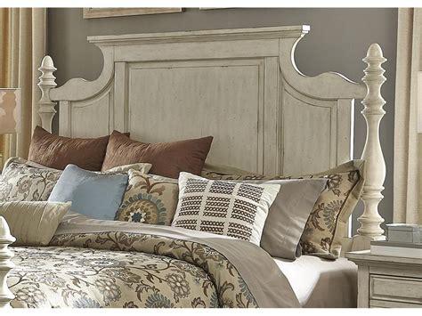 liberty furniture bedroom king poster bed  br kps