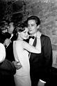 Alain Delon & Romy Schneider dancing in a nightclub, 1960 ...