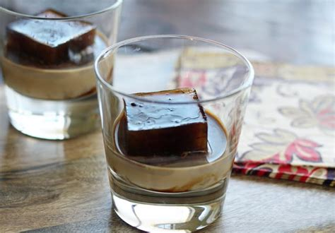 baileys iced coffee  dinner drink artful dishes