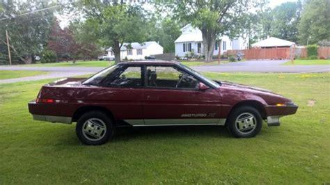 1986 subaru xt subaru xt coupe turbo 4wd for sale in lockport new york