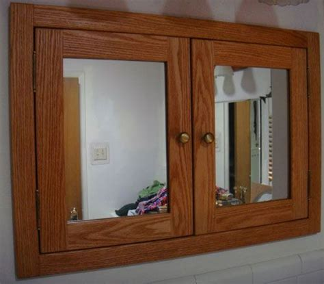 custom shaker style solid wood medicine cabinets