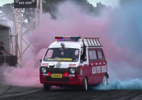 emergency van   mid mounted chevy  gm authority